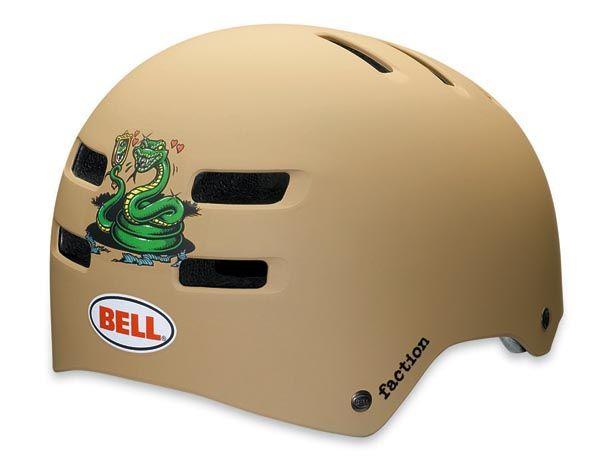 BMX Přilba Bell Faction Khaki Wade vel. L