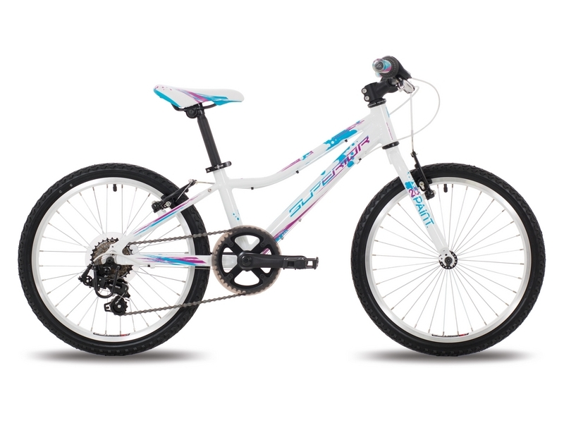 Superior XC 24 Paint white/blue/violet